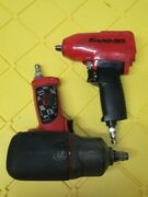 Snapon Mg325andingersoll Rand 2135 Timax 3/8 And 1/2'' Dr Impact Air Wrench Combo