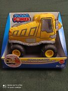 Plush Power Rc, Remote Control Dump-truck With Soft Body And 2-way Steering, For