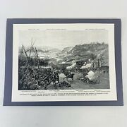 American Heritage Engraving Battle Of Pea Ridge March 8 1862 Union Forces Sandh
