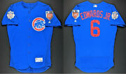 Carl Edwards Jr 2018 Team Issued Chicago Cubs Spring Training Jersey