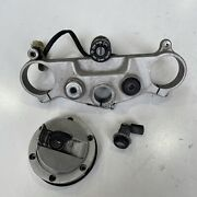Ktm Super Duke 990 2009 Ignition Tank Seat Lock Set With Key And Top Triple Clamp