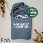 Rocky Mountain National Park Est 1915 Fleece Hoodie | We Donate To Parks