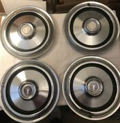 1975 1976 1977 1978 1979 Plymouth Volare Aspen Fury 14 Inch Hubcaps Set Ply12
