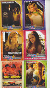 2013 Sdcc The Girls Of The Snake And Mongoose Hot Wheels Movie Promo Card Set Of 6