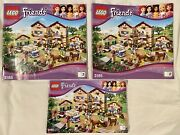 Lego Friends Instruction Manual Book 1 2 And 3 3185 Summer Horse Riding Camp