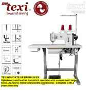 Texi Hd Forte Uf Premium Ex Upholstery And Leather Lockstitch Machine With Uniso