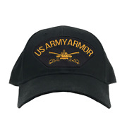 Us Army Armor Ball Cap Officially Licensed