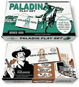 Marx Paladin Play Set Box Or Have Gun Will Travel Gold Mine Adventure Box
