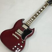 Edwards By Esp E-sg-120lt2 Made In Japan Sg Type W/ Seymour Duncan Pickup F1224