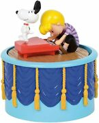 Dept 56 Peanuts Village Snoopy Dancing Animated Musical 6003313 Brand New In Box