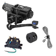 Kfi Se25 Stealth 2500lb Winch With Mount For 2016-2018 Yamaha Grizzly 700 4x4