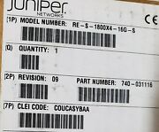 Open Box Juniper Networks Wired Router Re-s-1800x4-16g-s Factory Sealed