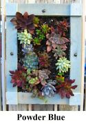 Wall Planter Box For Succulent Flower Herb Or Artificial Plantings