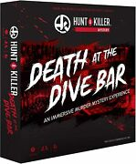 《new》hunt A Killer Death At The Dive Bar, Immersive Murder Mystery Game,ages 14+