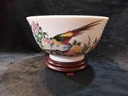 Lenox Ming Dynasty Centerpiece Bowl. Made In Japan For Lenox. Rare