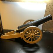 Vintage 60s Johnny Reb Rebel Cannon Toy By Remco