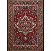 Old World Classic 7'10w X 11'2l Power-loomed Antique Mashad Area Rug In Red