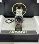 Movado Stainless Steel Kingmatic Diverand039s Automatic 200m Menand039s Date Watch
