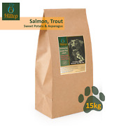 Grain Free Salmon Trout Sweet Potato And Asparagus Working Dog Food 100g 15kg