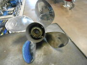 Mercury Used Stainless Steel 24 Pitch 4 Blade Propeller
