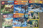 7 Lego Chima Instruction Booklet Lot -manuals Only- 70145 70006 70126 70127