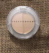 Sheer Cover Mineral Concealer Duo Light Medium New Sealed Full Size Discontinued