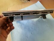 1968 Dodge Charger Plymouth Roadrunner Dash Non Air Heater Control Switch Panel