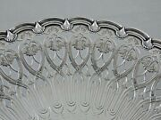 Gorgeous Antique And Co Sterling Silver Cake Stand / Large Serving Dish