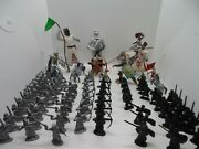 Lot Of 75 Misc. Knight, Kings And Queens Jousting, Castle Horse Toy Figurines