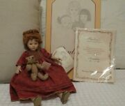 Paulineand039s Collector Doll Alexandra 12andrdquo Porcelain Limited Edition Nib Coa 42