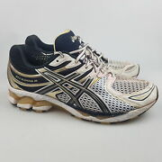 Menand039s Asics And039gel Kayano 16and039 Sz 10.5 Us Runners White Avgcon | 3+ Extra 10 Off