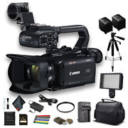 Canon Xa40 Professional Uhd 4k Camcorder 3666c002 W/extra Battery, Soft Padded