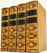 1812 Rural Sports Fine Leather Bindings Illustrated Fold Out Plates