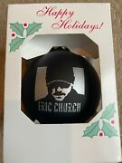 Eric Church Christmas Ornament 2020 Limited Edition Sold Out Free Shipping