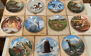 Collector Plates 11 Knowles Dominion W. L. George China Duck Owl Ram Eagle