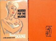 Murder For The Millions A New Case For Peter Chambers 1964 Kane Henry