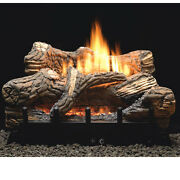 Flint Hill Vent Free Gas Logs - 30 - On/off Remote - Natural Gas