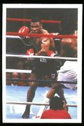 1987 A Question Of Sport Mike Tyson Uk Boxing Rookie Card Rc