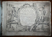 1748 Plans Of Harbours Bars Bays And Roads In St George's Channel Morris 25 Maps