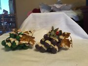 Charming Tails Lot Of 2 Grape Escape Mouse And Bunny Dean Griff Silvestri