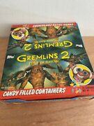1990 Gremlins 2 The New Batch Topps Figural Candy Containers Full Box Unopened