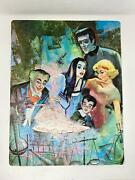 The Munsters Grandpa Cooking Jigsaw Puzzle 104 Pc Vintage 1965 Whitman 14x18