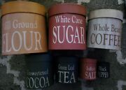 Rustic Shaker Canister Boxes Primitive 7-pc Set