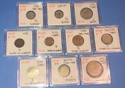 Egypt 1293 Set Of 10 Coins Lot Uncirculated Condition Rare Scarce