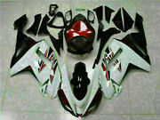 Injection Fit For Kawasaki 2007- 08 Zx6r Plastics With Seat Cowl Fairing D015