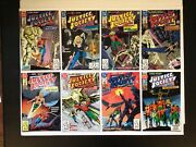 Justice Society 1-8 Complete1991 Dc1st Seriesbeautiful Bagged/boarded Nm Lot