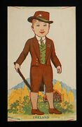 1920s Ireland Cut-out Doll Fogelson's Better Bread Fogelson's Bakery Newton Nj