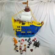 Jake And The Neverland Pirates Colossus Pirate Ship And Large Amount Of Figures
