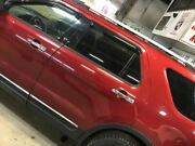 2011-2014 Ford Explorer Driver Rear Side Door Electric Privacy Glass Maroon