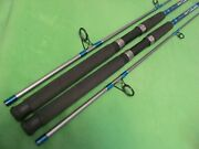 Lot Of 2 Hurricane Bluefin 7and039 0 Medium Heavy Action Spinning Rods